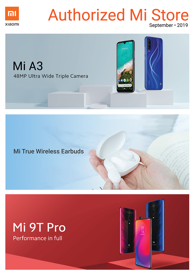 Xiaomi PH September 2019 Brochure reveals new and upcoming products