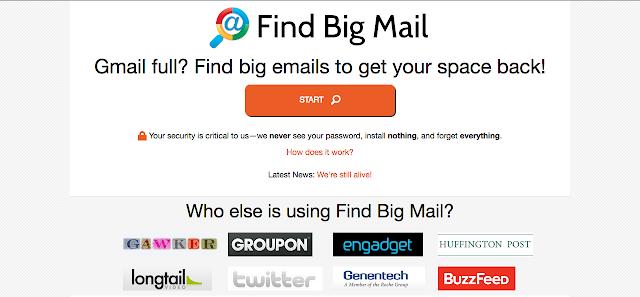 Comment libérer de l'espace dans #gmail (avec Find Big Mail), A Unix Mind In A Windows World