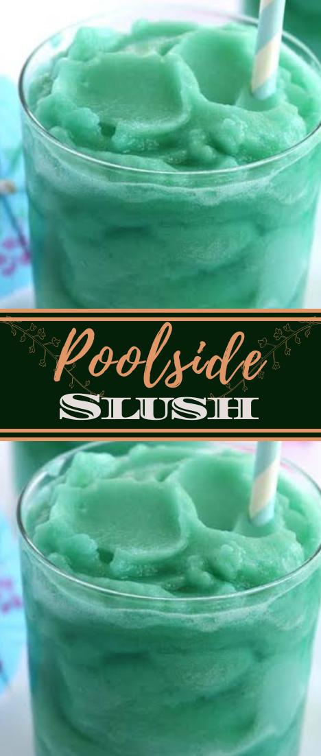 Poolside Slush #healthydrink #easyrecipe #cocktail #smoothie