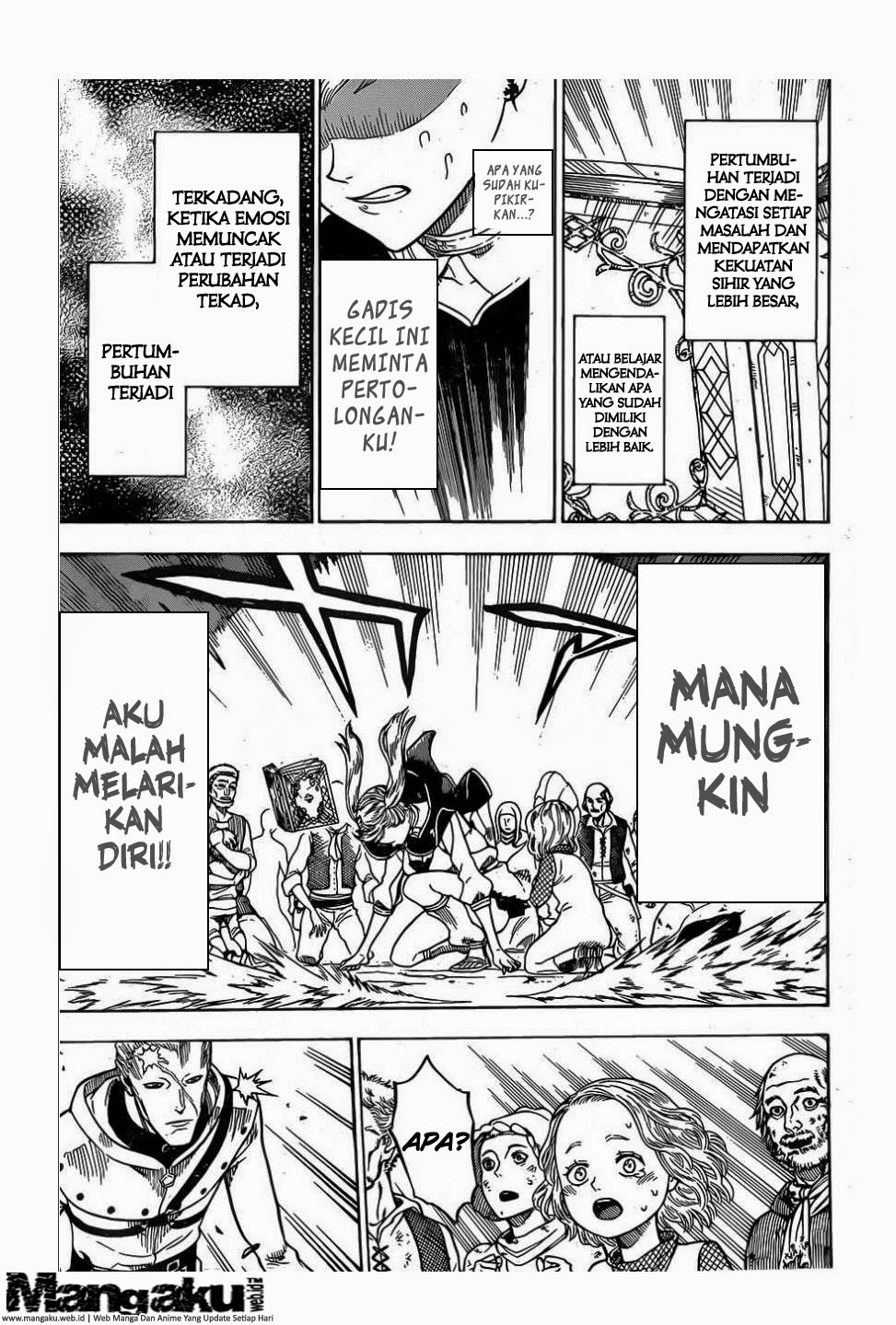Manga Black Clover chapter 7 : Monster Bahasa Indonesia