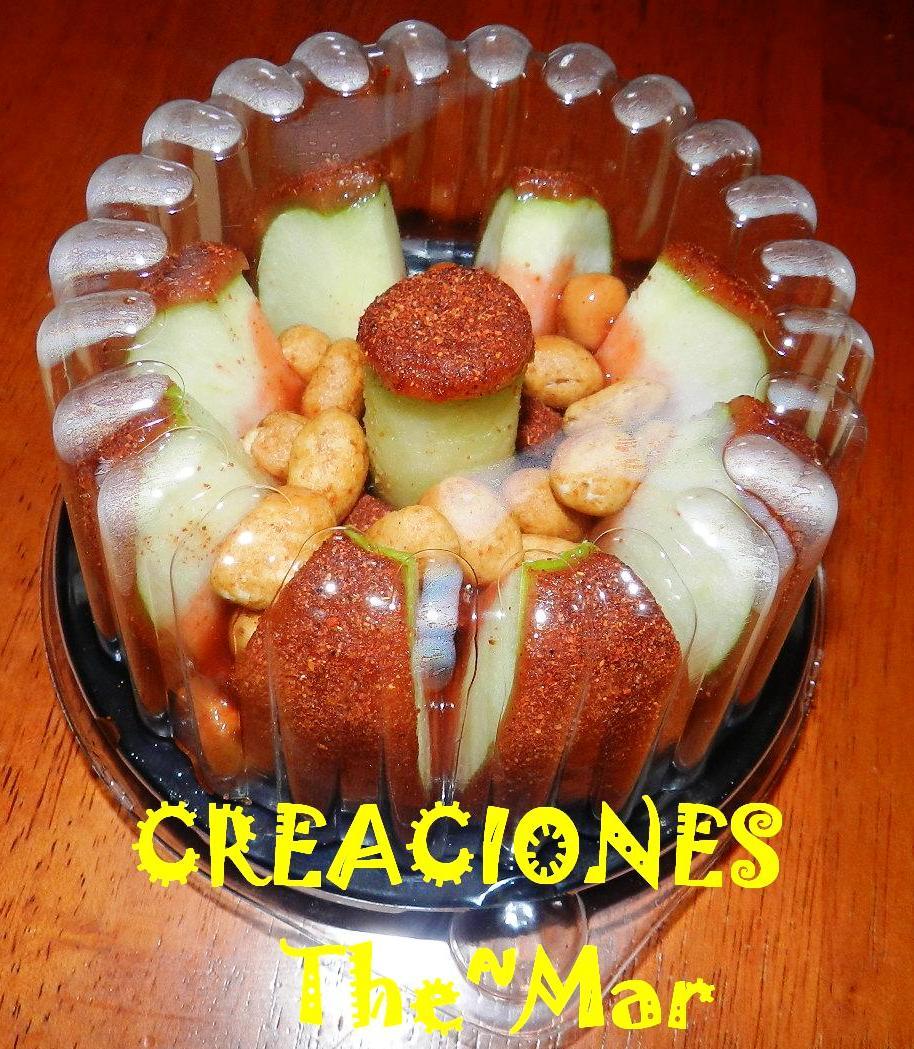 Creaciones The~Mar: Manzanas Cubiertas De Tamarindo Y Chile