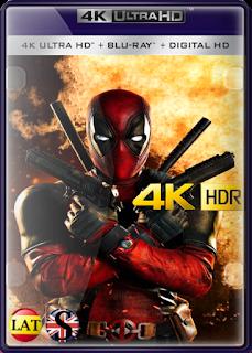 Deadpool (2016) REMUX 4K UHD HDR LATINO/ESPAÑOL/INGLES