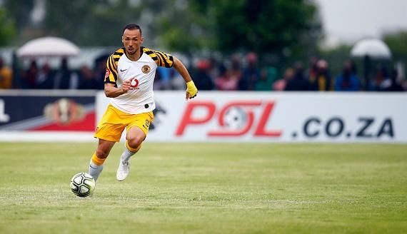 Kaizer Chiefs striker Samir Nurkovic