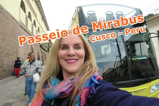 Passeio de Mirabus, ônibus Turismo, em Cusco