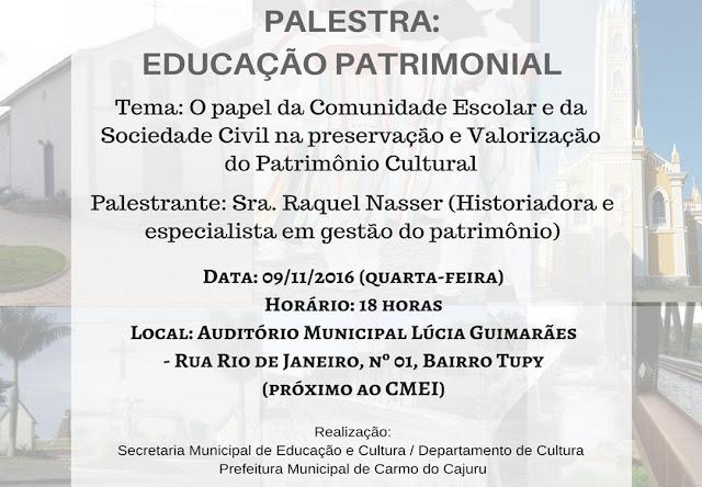 O papel da Comunidade Escolar e da Sociedade Civil na preservação e valorização do Patrimônio Cultural