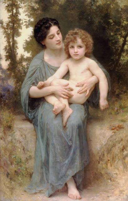 Адольф Вильям Бугро - Младший брат (1902)