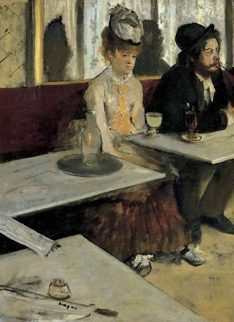 L'Absinthe - L'Assenzio - 1876  -Edgar Degas