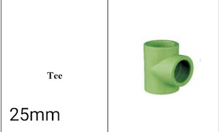 Jual fitting ppr lesso Tee 25mm