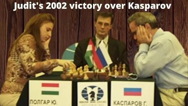 Judit's 2002 victory over Kasparov