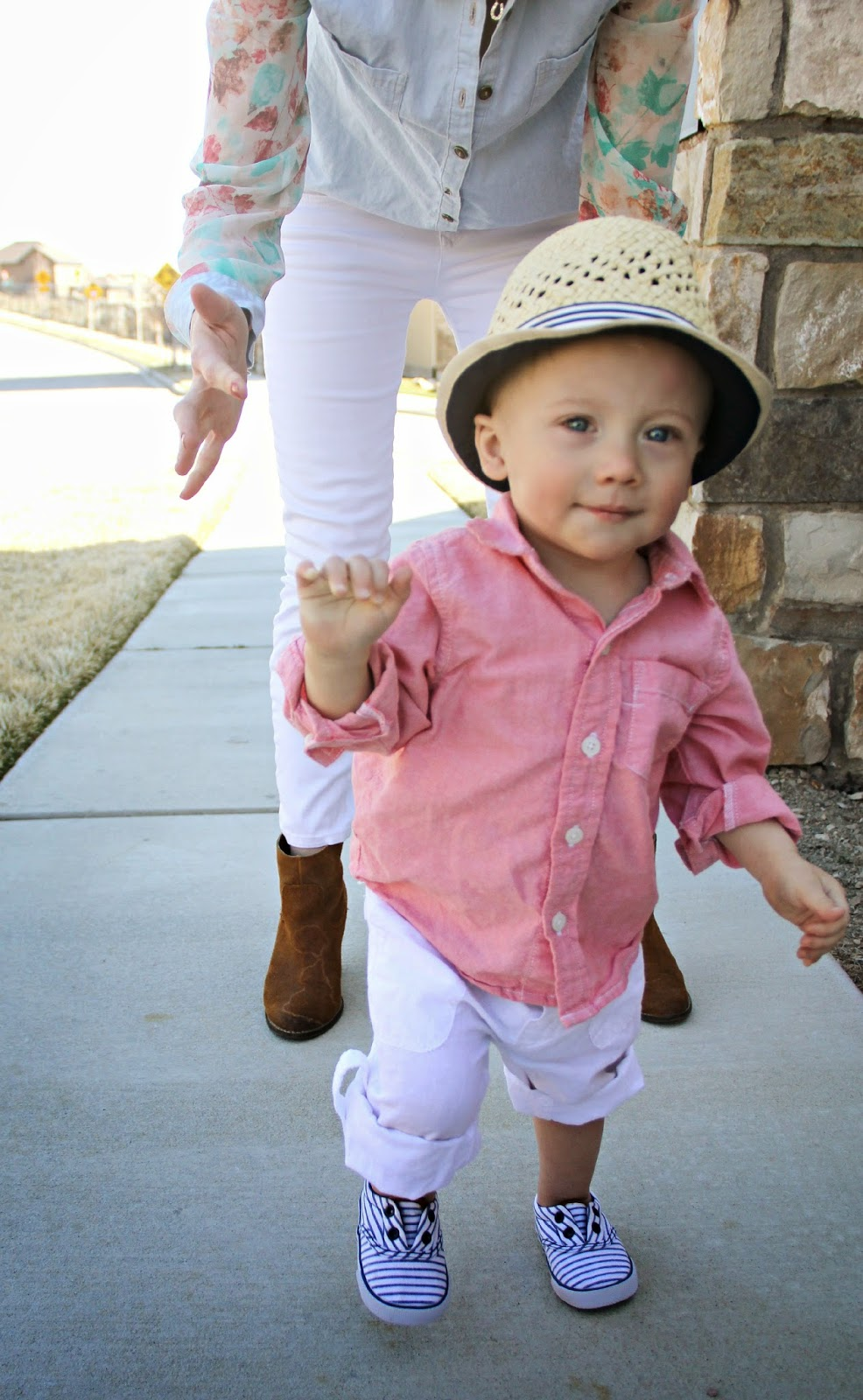 Spring Chambray / Egg Baby Giveaway - Kiss Me Darling