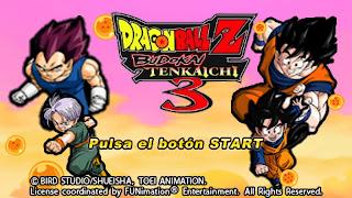 DRAGON BALL Z TENKAICHI TAG TEAM PPSSPP