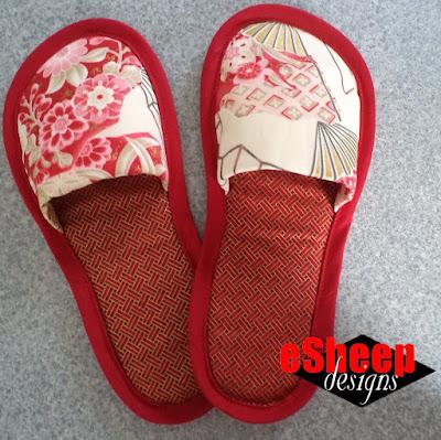 DIY Slippers by eSheep Designs