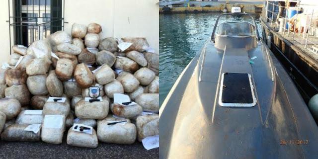 Νέα σύλληψη στη Δάφνη για το «ναρκοσκάφος» με την κάνναβη – Ο Ιταλός, ο Έλληνας επιχειρηματίας και η κινηματογραφική καταδίωξη