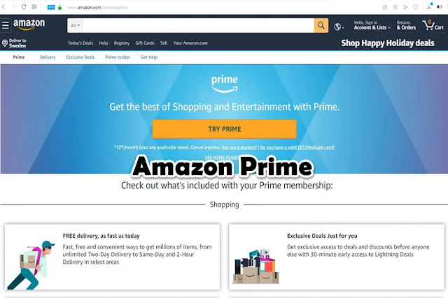 Amazon Prime : Free Movie Streaming Sites No Sign Up