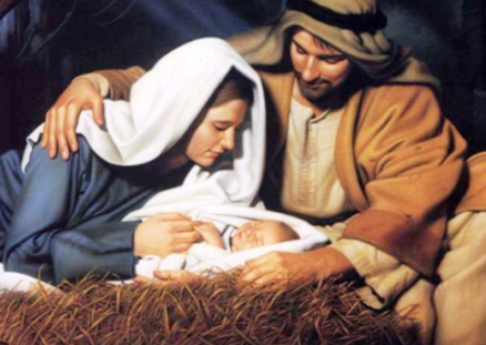 Use a Nativity scene