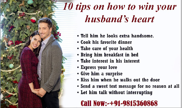Tips for good relationship with husband