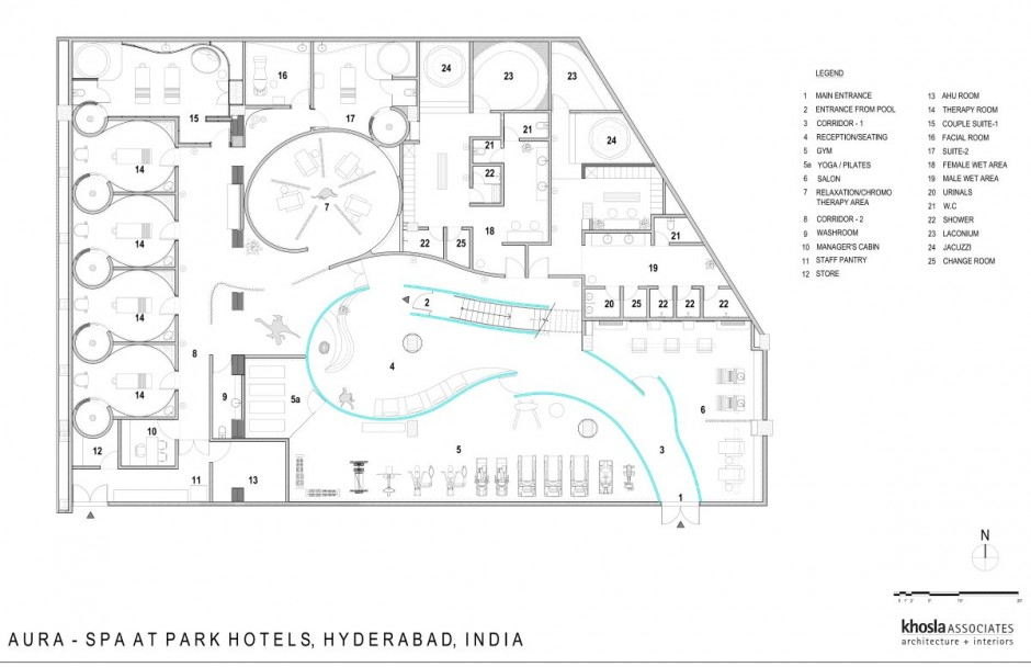 Interior House, Residence and Apartment Design: Spa