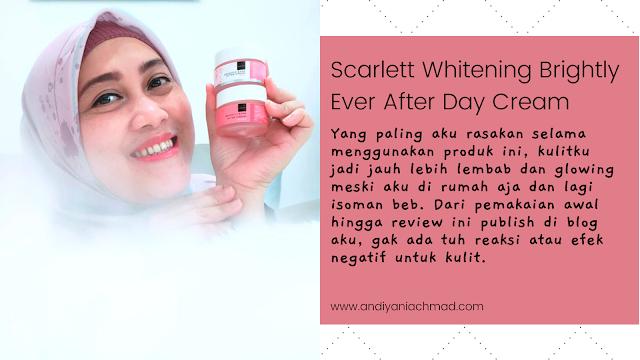 Scarlett Whitening Brightly Ever After Day & Night Cream
