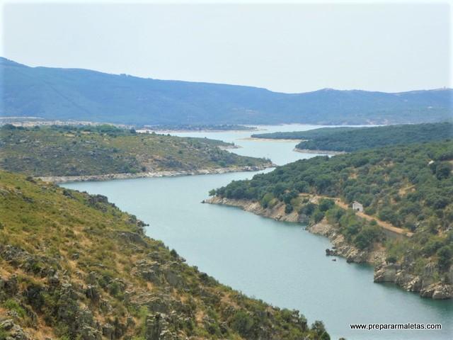 visitar la Presa del Villar en el norte de Madrid
