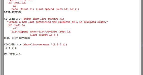 Rahul Kumar Saurabh: A Recursive LISP function which takes one