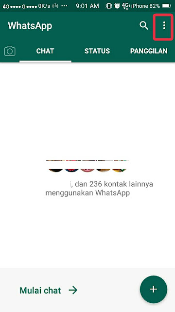 Cara Menyembunyikan Status Online di Whatsapp 3