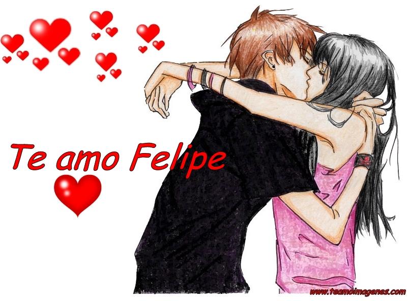 Te amo Felipe imágenes