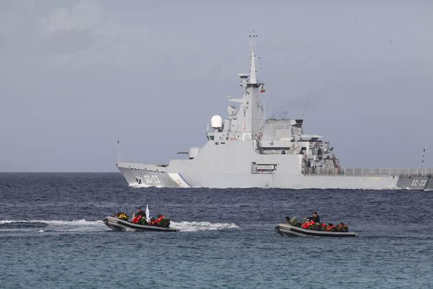 Resultado de imagen de Isla La Orchila, se desplegaron efectivos de la Armada Bolivariana de Venezuela