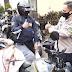 Polrestabes Bandung: Door to door bagikan 500 paket sembako