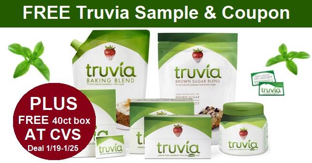 FREE Sample of Truvia & Coupon