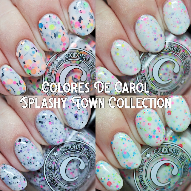 Colores de Carol Splashy Town Collection
