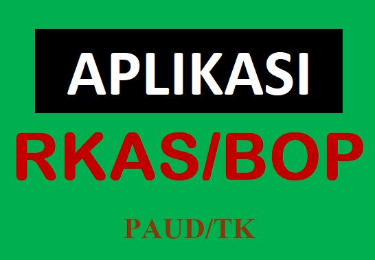 Contoh Aplikasi RKAS BOP PAUD-TK