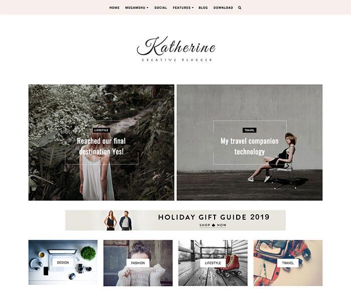 Katherine Blogger Themes
