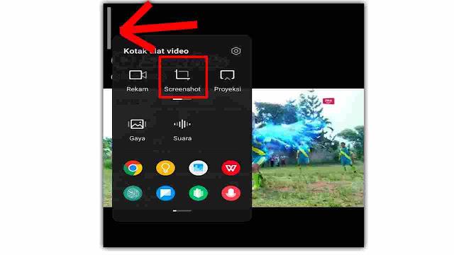 Cara screenshot di poco x3