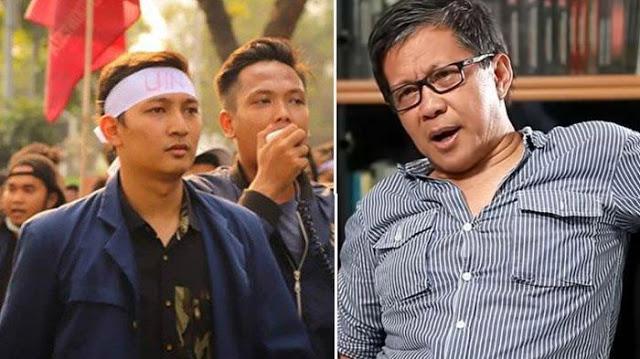 Mahasiswa Ini Jawab Pernyataan Wiranto soal Demo Disusupi Islam Radikal, Rocky Gerung Tertawa Puas