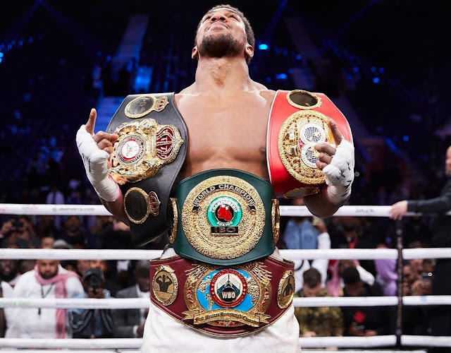 Anthony Joshua Wants To Defend Heavyweight Titles In Nigeria
