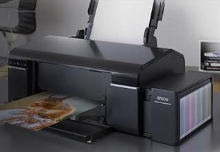 EPSON L805 is an inkjet printer