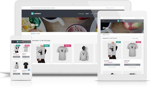 Download LarisManis WooCommerce WordPress Theme Unlimited Site