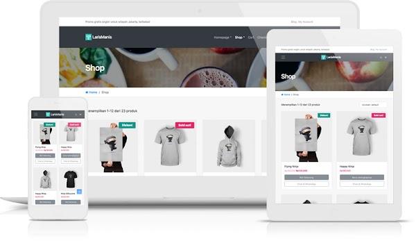 LarisManis WooCommerce WordPress Theme [Unlimited Site]