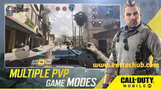 Multiple Person Versus Person In Call Of Duty Mobile Game