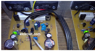 100W HiFi Power Amplifier circuit