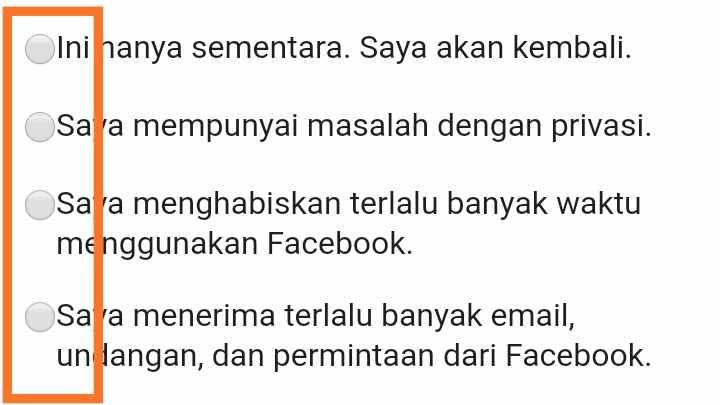 Cara menghapus akun FB lama yang lupa email dan Kata sandi
