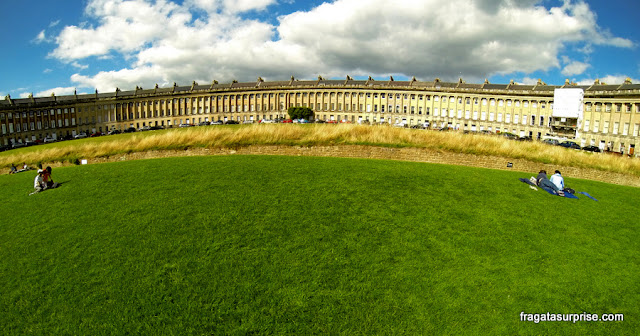 Conjunto georgiano The Royal Crescent, Bath, Inglaterra