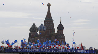Πρωτομαγιά στην Ρωσία. (ΦΩΤΟ)