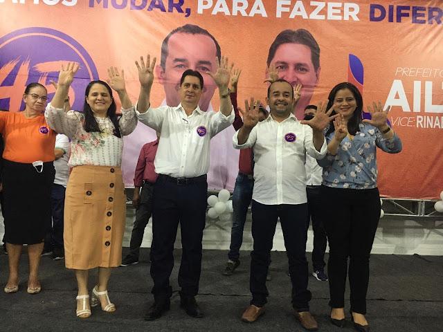 Irmão Lailton e Rinaldo Cara veia são oficializados como candidatos em convenção do PSDB