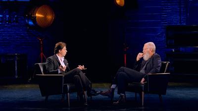 My Next Guest with David Letterman and Shah Rukh Khan hindi