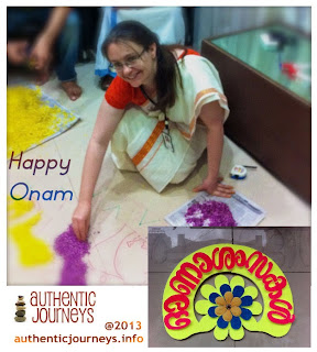 Celebrating Onam at Work in Kerala
