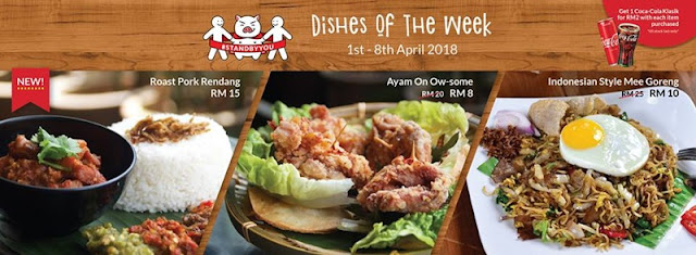 Naughty Nuri's Stand By You Promotion Dish Of The Week