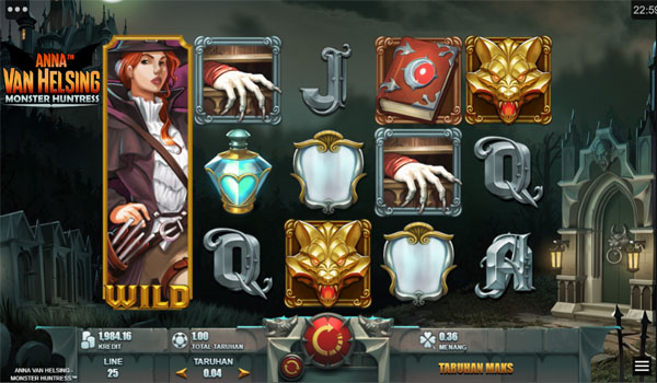 Main Gratis Slot Indonesia - Anna Van Helsing Monster Huntress Microgaming