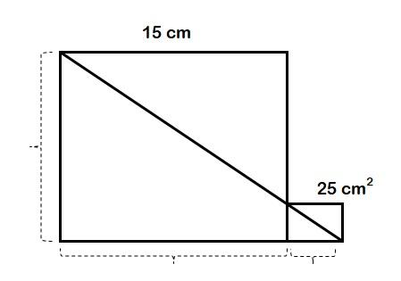 jawaban perhatikan dua persegi gambar di samping