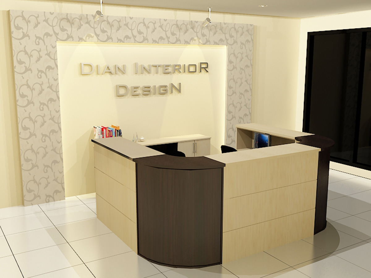 MEJA COUNTER DAN RESEPSIONIS  Dian Interior Design